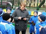 Олег Гусев посетил сумскую «Барсу»