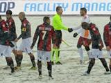 Матч «Болонья» — «Рома» прерван на 17-й минуте