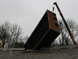 В Тернополе на стадионе упало 11-тонное табло