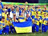 Украинская паралимпийская сборная по футболу стала чемпионом мира!