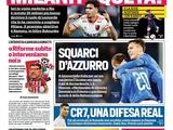 Итальянские СМИ напутали с Малиновским и выставили оценки Манчини с Шевченко
