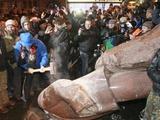 Запорожский «Металлург» заявил, что не имеет отношения к свержению памятника Ленину
