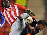 Лига Европы: «Динамо» расходится миром со «Сток Сити» (ВИДЕО)