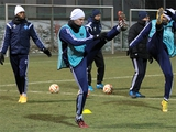 ФОТОрепортаж: открытая тренировка «Динамо» накануне матча с «Риу Аве» (26 фото)