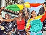 Сборную Ганы дома встретили красной ковровой дорожкой
