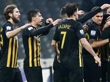 В стане соперника. АЕК добыл очередную победу в чемпионате Греции и по-прежнему лидирует (ВИДЕО)