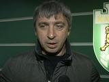 Александр Севидов: «Приоритет мы отдаем нашим футболистам из дубля»