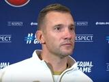 Андрей Шевченко: «Не забывайте, что сборная Турции играла дома»