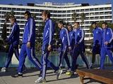 Динамовцы посетили матч Россия — Исландия