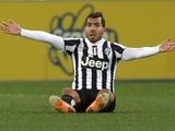 Карлос Тевес уже пять лет не забивает в еврокубках