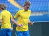 Никита Бурда получил травму на тренировке. Его участие в матче против Турции под вопросом