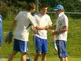 Первая тренировка «Динамо» на втором сборе. ВИДЕО