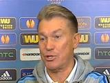 Олег Блохин: «В первом тайме было немного тяжело, но гол забили»