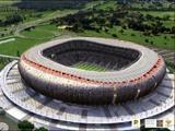 В ЮАР открыт главный стадион предстоящего ЧМ-2010 по футболу — «Соккер-сити»