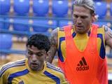 ФОТОрепортаж: тренировка сборной Украины в Харьковe (38 фото)