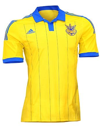 Сборная Украины, Игровая футболка Adidas Home Kit 2014/16
