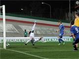 Товарищеский матч молодежных команд. Италия — Украина — 1:0. ВИДЕО
