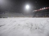 Из-за снегопада отменен матч «Парма» — «Ювентус» (ФОТО)
