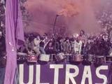 Болельщики «Фиорентины» устроили акцию протеста во время матча с «Сиеной»