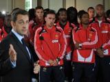 Сборную Франции на родине охраняет полиция