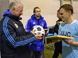 На базе в Конча-Заспе прошел турнир среди болельщиков «Динамо»