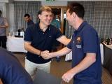 Футболисты «Барселоны» познакомились с новым тренером