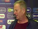 Александр Ищенко: «Динамо» играло на хороших скоростях с хорошим азартом»