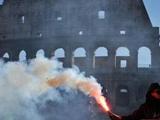 Римское дерби состоится, несмотря на беспорядки в городе