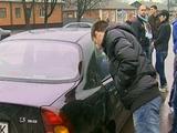 Фанаты «Металлиста» напали на автомобиль Маркоски