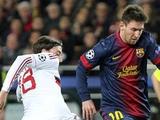 «Барселона» — «Милан» — 4:0. После матча. Аллегри: «Мы надеялись на многое...»
