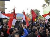 Египетские болельщики протестуют