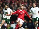 ЧМ-2018, плей-офф: Дания — Ирландия — 0:0 (ВИДЕО)