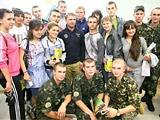 Динамовская легенда в гостях у Университета «Украина»