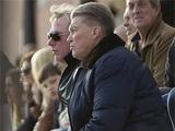 Блохин и Михайличенко посетили матч «Днепра» (ФОТО)