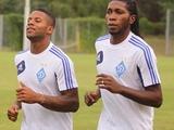 Ленс и Мбокани провели первую тренировку в составе «Динамо»