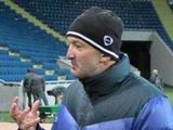 Роман Григорчук: «Мои футболисты откровенно жалели, что первая часть чемпионата закончилась»