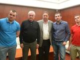 Коньков и Фоменко встретились с лидерами ультрас
