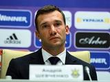 Андрей ШЕВЧЕНКО: «Для сборной то, что в чемпионате нет интриги, к лучшему»