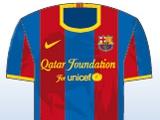 УЕФА рассмотрит  два логотипа на футболках «Барселоны»