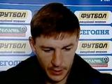 Максим Шацких: «У нас не получился выход из обороны в атаку»