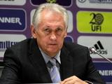 Украина — Англия — 0:0. Послематчевая пресс-конференция