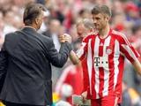 Луи ван Гал: «Игра Мюллера в последних матчах меня не устраивала»