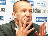 Наставник запорожского «Металлурга» пришел на пресс-конференцию с сыном