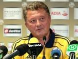 Мирон Маркевич: «Мы же не в первый раз играем в еврокубках»