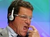 Фабио Капелло: «Общаться с игроками через переводчика не очень удобно»