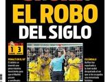 Каталонская газета — о матче «Реала» и «Ювентуса»: «Ограбление века»