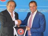 УЕФА: официальный визит президента ФФУ в Ньон