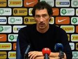Дмитрий Михайленко: «Не надо паниковать. «Днепр-1» по игре превосходит большинство команд первой лиги»
