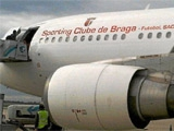 На матч Лиги чемпионов с «Копенгагеном» «Барселона» летала на самолете «Браги»