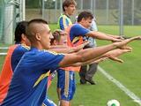 ФОТОрепортаж: открытая тренировка сборной Украины (42 фото)